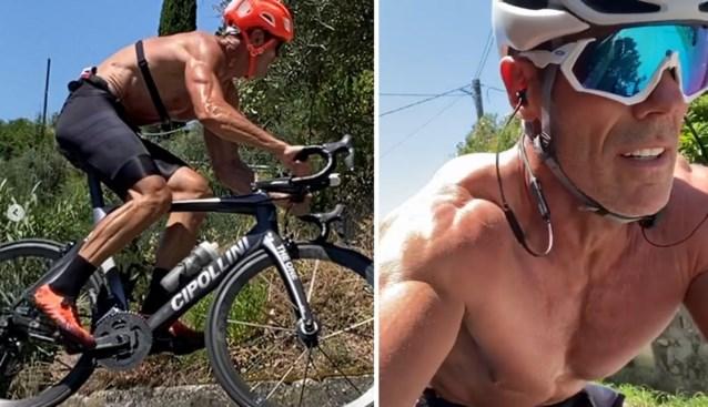 Mario Cipollini is een monsteratleet: ex-wereldkampioen ziet er op z'n 53ste fitter uit dan ooit