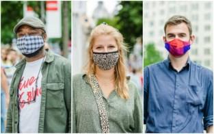 Tien om te zien: zij gingen shoppen met een origineel mondmasker