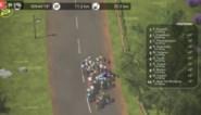 Australische specialist Freddy Ovett wint vierde rit in virtuele Tour, NTT blijft leider