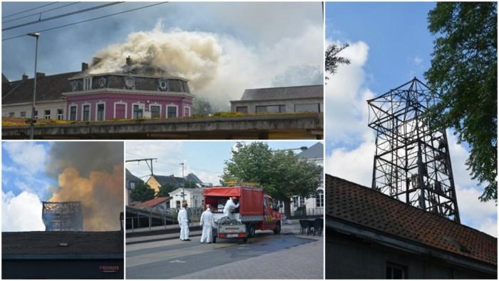 """Hulpdiensten ruimen nog hele weekend asbest na vernietigende brand schutterstoren: """"Die regen van brandende brokstukken zal ik nooit vergeten"""""""