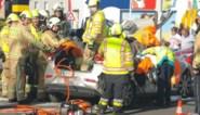 Ongeval met zes gewonden: toestand van één van de slachtoffers is ernstig