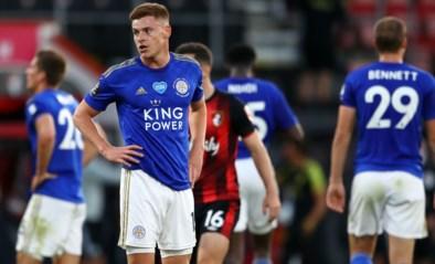 Leicester gaat verrassend zwaar onderuit tegen staartploeg en doet slechte zaak in strijd om Champions League-ticket