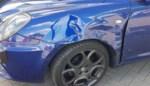 Wagen in de flank gegrepen: enkel materiële schade