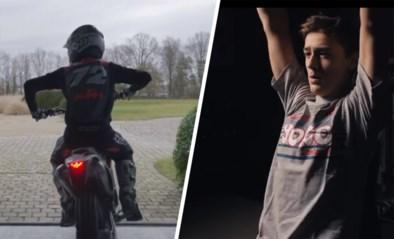 Liam Everts is klaar om te vlammen op zijn crossmotor: indrukwekkende video toont het werk achter het succes