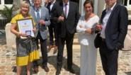 Minister-president Jan Jambon huldigt An De Moor op Vlaamse feestdag