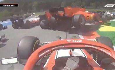 Malaise bij Ferrari blijft maar duren: Vettel en Leclerc rammen nu zelfs elkaar uit de race