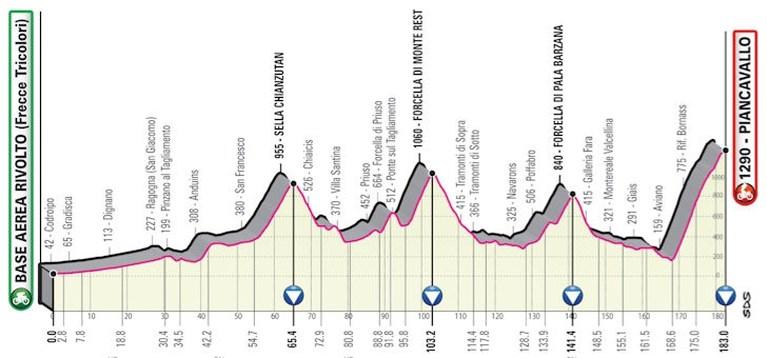 """Remco Evenepoel verkent twee cruciale ritten van de Giro: """"Ik ga niet liegen, dit wordt zwaar"""""""