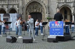 Verrassingsconcert Will Tura leidt sobere viering Vlaamse feestdag in