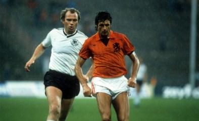 """Goud waard voor Oranje, meedogenloze verdediger en man van glamour: """"Een boete? Jammer, dacht Wim Suurbier dan"""""""