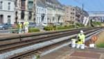 Voorgevels van huizen Stationsplein gereinigd