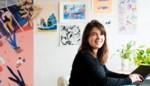 Ondanks corona maakt Flore haar droom waar en wordt voltijds tekenares