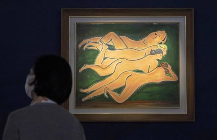 """Waarom de """"Chinese Matisse"""" een halve eeuw na zijn dood furore maakt"""