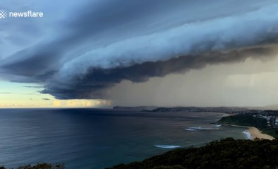 Timelapse legt 'apocalyptische' storm vast over Sydney