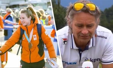 """Emotionele bondscoach over de dramatische week van Lara van Ruijven (27): """"Ik miste een bericht van haar, daarna werd het gitzwart"""""""