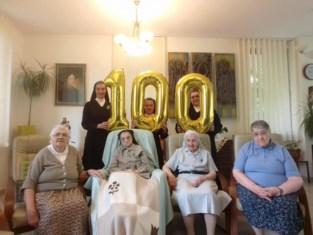 Zuster Céline mag 100 kaarsjes uitblazen