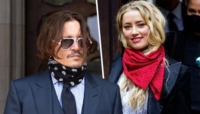 """Fles op hand kapotgeslagen en vingertop afgesneden door Amber Heard: """"Johnny Depp is hier het slachtoffer"""""""