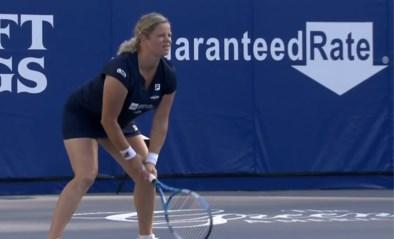 Kim Clijsters wint eerste keer sinds comeback