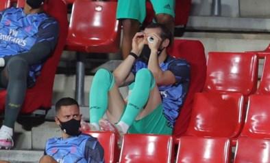 Gareth Bale vindt 'bankzitten' maar niets en laat dat duidelijk merken