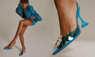 Rihanna werkt voor eerste schoenencollectie van Fenty samen met Amina Muaddi