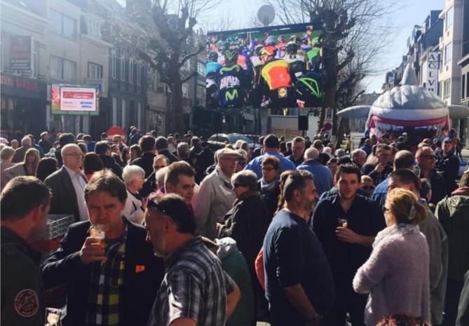 'Dorp van de Ronde' met veiligheidszones in plaats van volksfeest