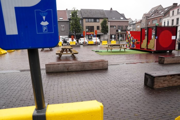 Zes parkeerplaatsen voor tien handelszaken: ophef over 'zomerplein' in Gentbrugge