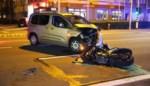 Motorrijder in levensgevaar na aanrijding met auto