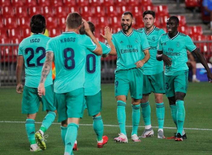 Real Madrid dankt Courtois en is donderdag kampioen als het opnieuw wint (of als Barça niet wint)