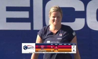 Matchritme, veel trainingspartners en weinig risico op blessures: waarom de World Team Tennis Tour op het lijf geschreven is van Kim Clijsters