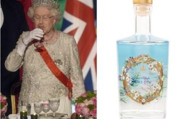 Queen Elizabeth brengt haar eigen gin uit