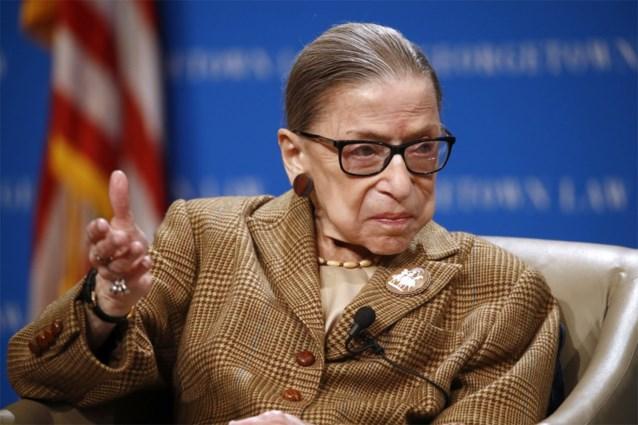 Ruth Bader Ginsburg opnieuw opgenomen in ziekenhuis