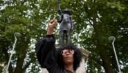 Hoe een kersverse activiste een standbeeld neerhaalde en vervolgens zelf op een sokkel terechtkwam