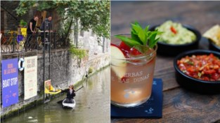 Vanuit je bootje cocktails bestellen: pop-up pakt uit met waterlift