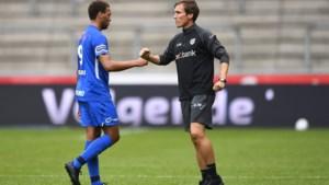 """Cyriel Dessers maakt geslaagd debuut bij RC Genk, maar scoort niet: """"Goals? Die zullen wel vanzelf volgen"""