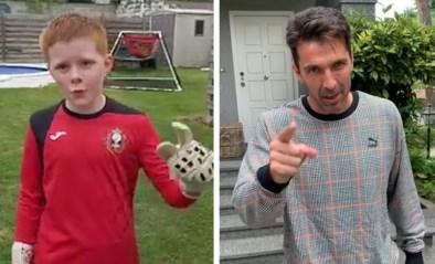 """Courtois en Buffon reageren op oproep van Belgisch jongetje, maar ouders gaan op de rem staan: """"Was al ster op school"""""""
