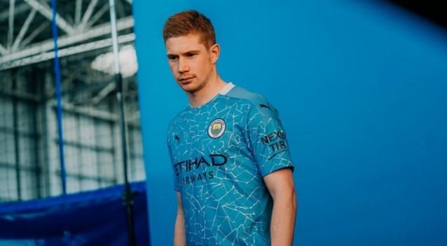 Manchester City stelt nieuw shirt voor: in dit truitje mag Kevin De Bruyne zaterdag Wembley veroveren