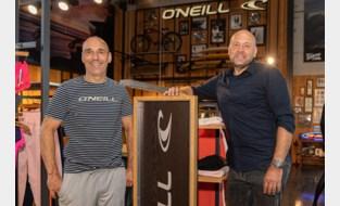Surfmerk O'Neill strandt in Melle: hele Benelux komt naar showroom van Mario en Jochen