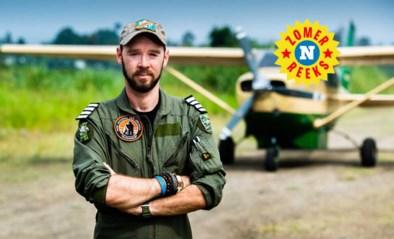 Anthony Caere (39) vliegt nog steeds boven Virunga, zelfs nadat hij zware crash amper overleefde