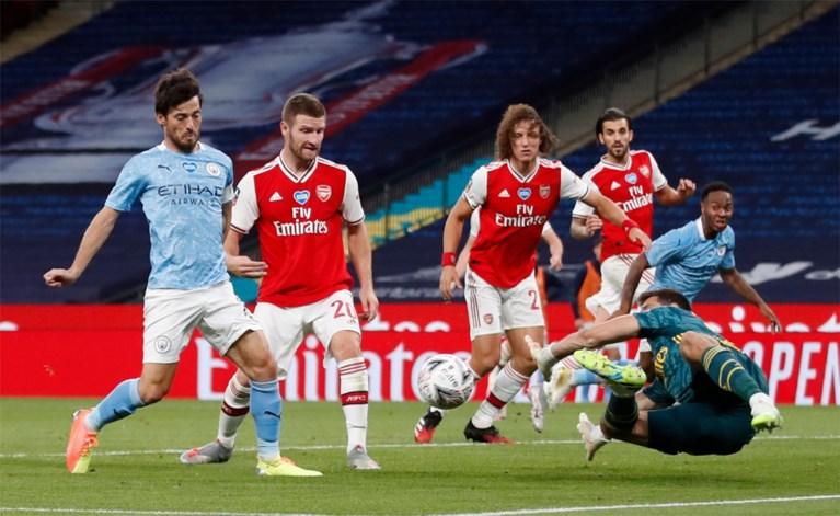 Aubameyang verknalt bekerdroom van Kevin De Bruyne: Arsenal knikkert Manchester City uit FA Cup