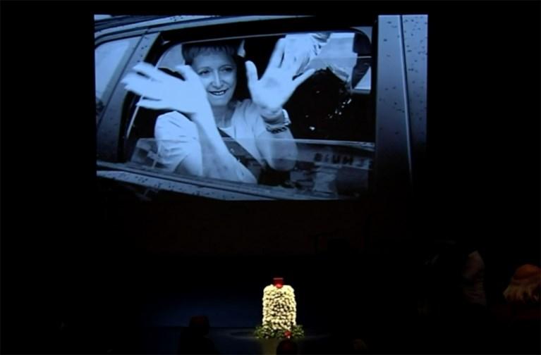 """Herbert Flack neemt afscheid van zijn Fabienne: """"Je hebt je al die tijd geparkeerd, alleen maar om mij gelukkig te zien"""""""
