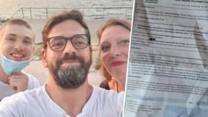 """Dirk en zijn gezin kwamen terug uit """"oranje"""" Barcelona: """"Op vliegtuig moesten we papier met al onze gegevens invullen. Maar niemand die het in ontvangst nam"""""""