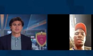 """Gevallen Nederlands toptalent zorgt voor straffe beelden, terwijl wedstrijd nog bezig is: """"Bel me binnen vijf minuutjes terug!"""""""