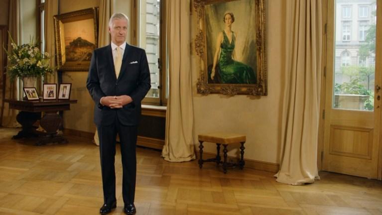 """Koning steekt Belgen hart onder de riem in coronacrisis en vraagt stabiele regering: """"Laten we het land niet teleurstellen"""""""