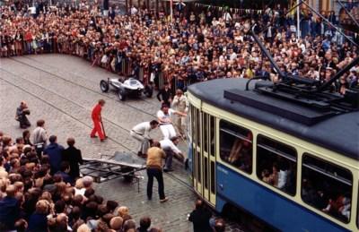 Een tram met de tanden voorttrekken: toen John Massis dé ster was op de Gentse Feesten