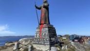 Inwoners Groenland stemmen voor het behoud van koloniaal standbeeld