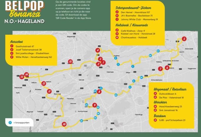Ontdek de muziekgeschiedenis van Noordoost-Hageland per fiets