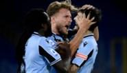 Lazio kan met invaller Jordan Lukaku eindelijk nog eens winnen, Immobile scoort en gaat Ronaldo weer voorbij in topschuttersstand
