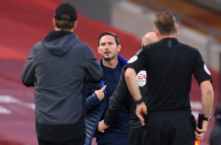 """Frank Lampard niet gediend met de houding van Jürgen Klopp: """"Ze moeten niet te arrogant worden"""""""