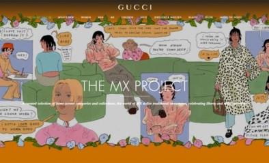 Gucci lanceert genderneutrale afdeling op website