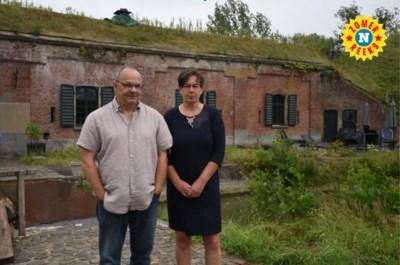 """Dries en Veronique wonen in een voormalig munitiedepot: """"Het gebouw dicteert wat we moeten doen"""""""