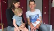 Ben Hermans kan met gerust hart naar Burgos afreizen: dochtertje Nina net op tijd geboren